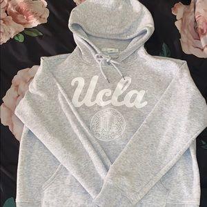 gray UCLA. H&M hoodie